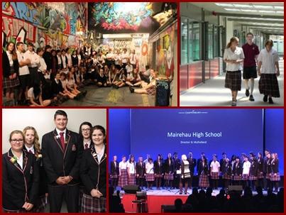 Mairehau High School / マレハウ ハイスクール
