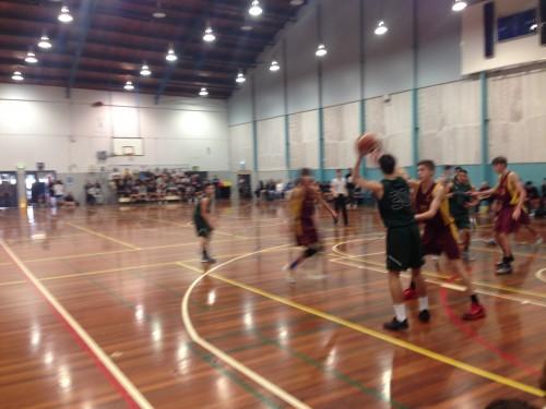 U17 バスケットボール決勝 クライストチャーチ