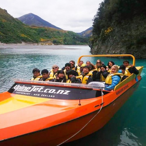Jet boating group